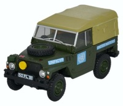 "Land Rover Ligero ""ONU"" (1983) Oxford 1/76"