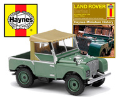 "Land Rover Serie 1 ""Haynes"" (1956) Corgi 1/43"