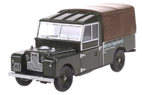Land Rover Serie I 110 British Rail Sign (1950) Oxford 1/43