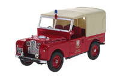 "Land Rover Serie I 80"" ""Somerset - Bomberos"" (1950) Oxford 1/43"