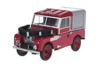 "Land Rover Serie I 88 ""Fire Appliance"" (1969) Oxford 1/43"
