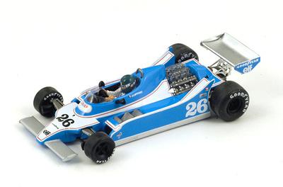 """Ligier JS11 """"1º GP. Argentina"""" nº 26 Jacques Laffite (1979) Spark 1:43"""