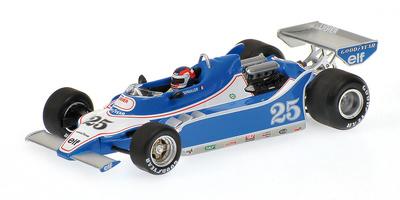 """Ligier JS11 """"1º GP. España"""" nº 25 Patrick Depailler (1979) Minichamps 1/43"""