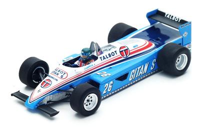 "Ligier JS19 ""GP. Mónaco"" nº 26 Jacques Laffite (1982) Spark 1/43"
