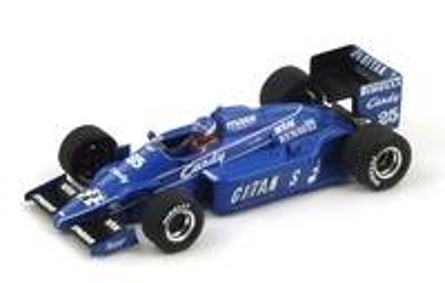 "Ligier JS25 3º ""GP. Australia"" nº 25 Philippe Streiff  (1985) Spark 1:43"