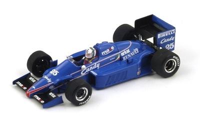 """Ligier JS25 """"4º GP. Mónaco"""" nº 25 Andrea de Cesaris (1985) Spark 1:43"""