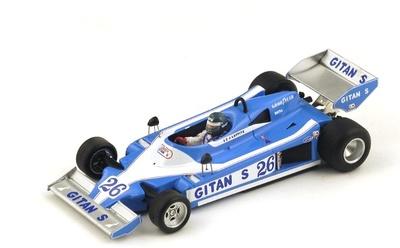 """Ligier JS9 3º """"GP. España"""" nº 26 Jacques Lafitte (1978) Spark 1:43"""