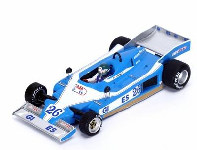 "Ligier JS9 ""GP. Mónaco"" nº 26 Jacques Laffite (1978) Spark 1:43"
