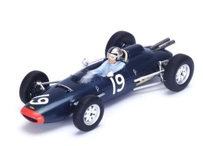 """Lola Mk4A """"GP. Gran Bretaña"""" nº 19 Chris Amon (1963) Spark 1:43"""
