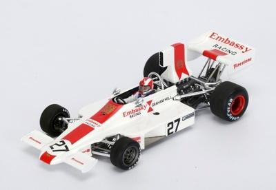 """Lola T370 """"GP. Italia"""" nº 27 Rolf Stommelen (1974) Spark 1:43"""