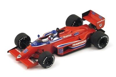 """Lola THL2 """"GP. Bélgica"""" nº 16 Patrick Tambay (1986) Spark 1:43"""