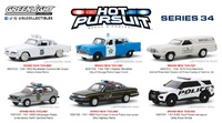 Lote 6 unidades Hot Pursuit Series 34 Greenlight 1/64