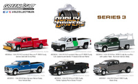 Lote de 6 unidades Dually Drivers Series 3 Greenlight 1/64