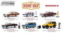 Lote de 6 unidades The Hobby Shop Series 8 Greenlight 1/64