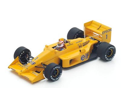 "Lotus 100 T ""GP. Brasil"" nº 1 Nelson Piquet (1988) Spark 1:43"
