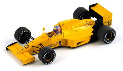 "Lotus 102 ""GP. Bélgica""  nº 12 Hugh Peter Martin Donnelly (1990) Spark 1/43"