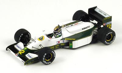 "Lotus 102B  ""GP. San Marino"" nº 12 Julian Bailey (1991) Spark 1/43"