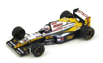 "Lotus 109 ""GP. Gran Bretaña"" nº 11 Alessandro Zanardi (1994) Spark 1:43"