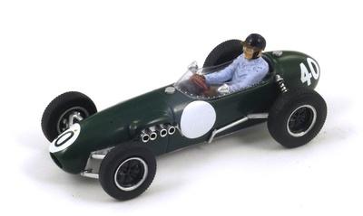 "Lotus 12 ""4º GP. Bélgica"" nº 40 Cliff Allison (1958) Spark 1:43"