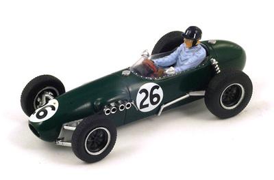 "Lotus 12 ""GP. Mónaco"" nº 26 Graham Hill (1958) Spark 1:43"