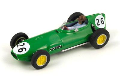 """Lotus 16 """"GP. Gran Bretaña"""" nº 26 David Piper (1960) Spark 1:43"""