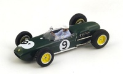 "Lotus 18 ""2º GP. Gran Bretaña"" nº 9 John Surtees (1960) Spark 1:43"