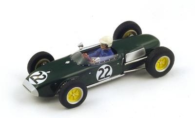 "Lotus 18 ""6º GP. Francia"" 1960 nº 22 Ron Flockhart (1960) Spark 1:43"