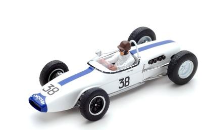 "Lotus 18 ""GP. Francia"" 1961 nº 38 Ian Burgess (1961) Spark 1:43"