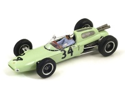 """Lotus 24 """"GP. Gran Bretaña"""" nº 34 Masten Gregory (1962) Spark 1:43"""