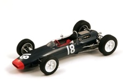 """Lotus 25 """"6º GP. Mónaco"""" nº 18 Mike Hailwood (1964) Spark 1:18"""