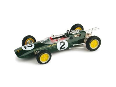 "Lotus 25 ""GP. Bélgica"" nº 2 Trevor Taylor (1963) Brumm 1/43"