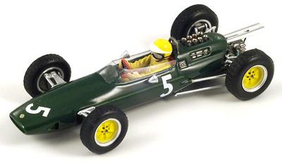 """Lotus 25 """"GP. Gran Bretaña"""" nº 5 Trevor Taylor (1963) Spark 1/43"""