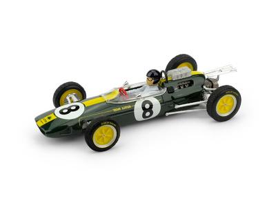 "Lotus 25 ""GP. Italia"" nº 8 Jim Clark (1963) Brumm 1/43"