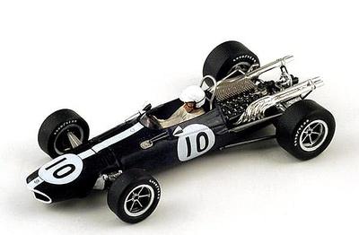 """Lotus 33 BRM  """"2º GP. Mónaco""""  nº 14 Graham Hill (1967) Spark 1/43"""