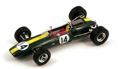 """Lotus 33 BRM """"GP. Mónaco"""" nº 14 Graham Hill (1967) Spark 1:18"""