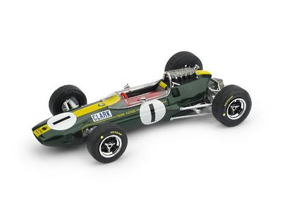 """Lotus 33 """"GP. Alemania nº 5 Jim Clark (1965) Brumm 1:43"""