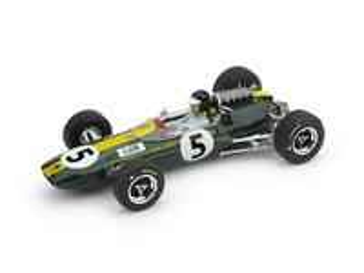 "Lotus 33 ""GP. Gran Bretaña"" nº 5 Jim Clark (1965) Brumm 1:43"