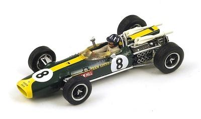 "Lotus 43 BRM ""GP. Sudáfrica"" nº 8 Graham Hill (1967) Spark 1:43"