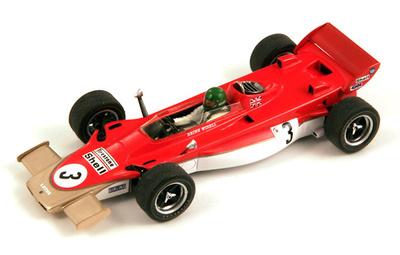 """Lotus 56B """"GP. Gran Bretaña"""" nº 3 Reine Wisell (1971) Spark 1/43"""