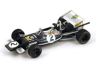 "Lotus 69 ""1º GP. Francia "" nº 2 Jochen Rindt (1970) Spark 1:43"