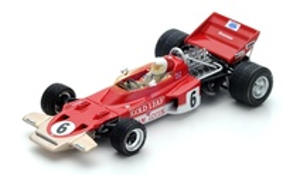 "Lotus 72B ""GP. Gran Bretaña"" nº 6 John Miles (1970) Spark 1:43"