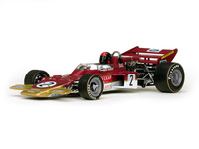 """Lotus 72C """"1º GP. Alemania"""" nº 2 Jochen Rindt (1970) Quartzo 1:18"""