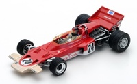 "Lotus 72C ""GP USA""nº 24 Emerson Fittipaldi  (1970) Spark 1:43"