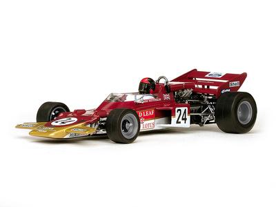 "Lotus 72C ""GP. USA"" nº 24 Emerson Fittipaldi (1970) Quartzo 1:18"