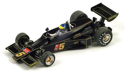 "Lotus 77 ""GP Brasil"" nº 5 Ronnie Peterson (1976) Spark 1/43"