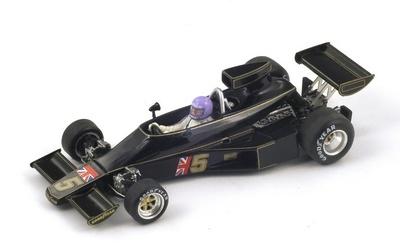 "Lotus 77 ""GP. Sudáfrica"" nº 5 Bob Evans (1976) Spark 1:43"