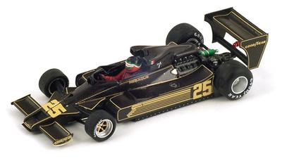 """Lotus 78 """"6º GP Alemania"""" nº 25 Hector Rebaque (1978) Spark 1/43"""