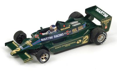 "Lotus 79 ""2º GP. Argentina"" nº 2 Carlos Reutemann  (1979) Spark 1/43"