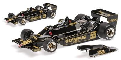 """Lotus 79 """"GP. Canadá"""" nº 55 Jean Pierre Jarier (1978) Minichamps 1:18"""