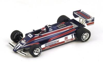 """Lotus 81 """"GP. Mónaco"""" nº 11 Mario Andretti (1980) Spark 1:43"""